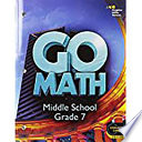 Go Math! Interactive Worktext Grade 7