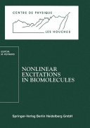 Pdf Nonlinear Excitations in Biomolecules Telecharger