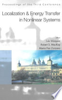 Localization and Energy Transfer in Nonlinear Systems Book