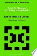 Lattice-Ordered Groups
