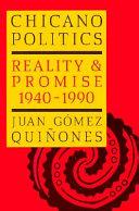 Chicano Politics