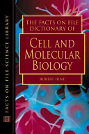 The Facts On File Dictionary of Cell and Molecular Biology Book