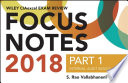 Wiley CIAexcel Exam Review 2018 Focus Notes, Part 1