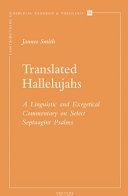 Translated Hallelujahs