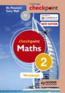 Books - Checkpoint Mathematics Workbook 2 | ISBN 9781444144031