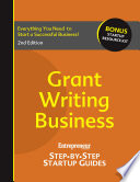 Grant Writing Business Book PDF