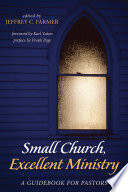 Small Church Excellent Ministry