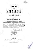 Étude sur Smyrne