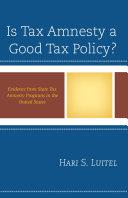 Is Tax Amnesty a Good Tax Policy? ebook