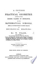 A course of practical geometry for mechanics