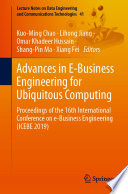 Advances in E Business Engineering for Ubiquitous Computing