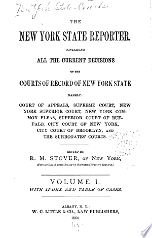 Download The New York State Reporter PDF
