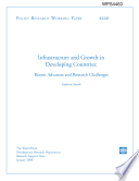 Infrastructure and Growth in Developing Countries