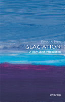 Glaciation  a Very Short Introduction