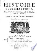 Tome trente-troisième, depuis l'an 1562 jusqu'en 1563