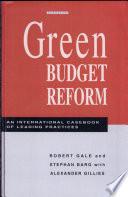 Green Budget Reform