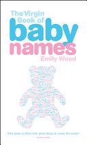The Virgin Book of Baby Names ebook