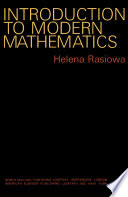 Introduction to Modern Mathematics