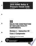 2010 ASME Boiler and Pressure Vessel Code