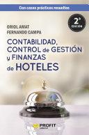 Contabilidad, control de gestión y finanzas de hoteles