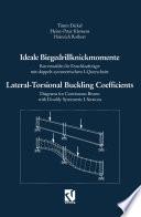 Ideale Biegedrillknickmomente / Lateral-Torsional Buckling Coefficients