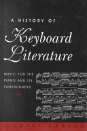 A History of Keyboard Literature