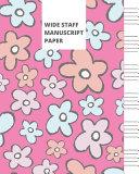 Wide Staff Manuscript Paper Book PDF