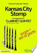Kansas City Stomp - Clarinet Quintet score & parts Pdf/ePub eBook