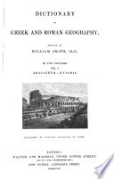 Dictionary Of Greek And Roman Geography Abacaenum Hytanis 1854