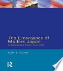 The Emergence of Modern Japan