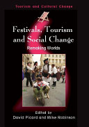 Festivals  Tourism and Social Change