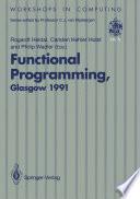 Functional Programming  Glasgow 1991