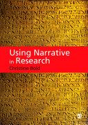 Using Narrative in Research