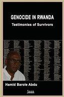 Genocide in Rwanda Book PDF