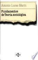 Fundamentos de teoría sociológica
