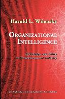 Organizational Intelligence Pdf/ePub eBook