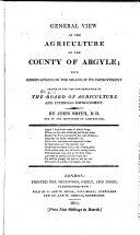 Agricultural Surveys: Argyle (1813)