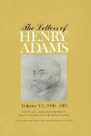 The Letters of Henry Adams