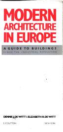Modern Architecture in Europe