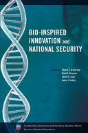 Bio Inspired Innovation And National Security Book PDF