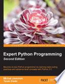 """Expert Python Programming"" by Michal Jaworski, Tarek Ziade"
