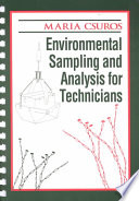 Environmental Sampling and Analysis for Technicians Book