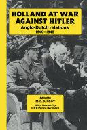 Pdf Holland at War Against Hitler