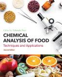 Chemical Analysis of Food Pdf