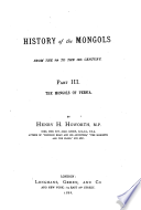 History of the Mongols Book PDF