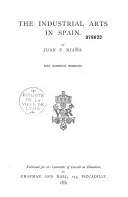 The Industrial Arts in Spain