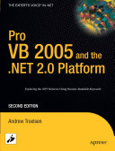 Pro VB 2005 and the  NET 2 0 Platform