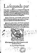 La segunda parte del libro llamado Monte Calvario