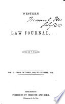 The Western Law Journal