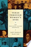 Texas Through Women s Eyes Book PDF